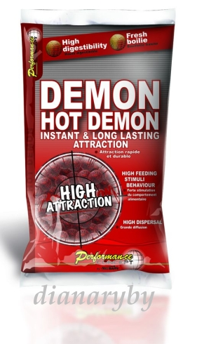Boilies Hot Demon 1kg